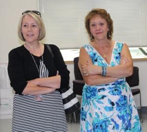 Gloria Savinski and Jackie Davis, the 911 dispatcher who started the CPR effort