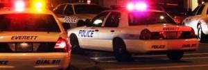 Everett, WA Police cars