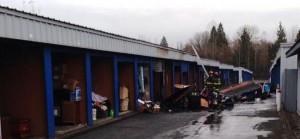 Everett storage fire