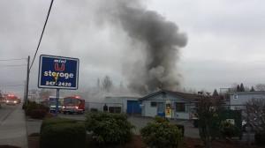 U storage fire