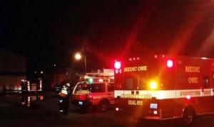 Everett boat shop fire