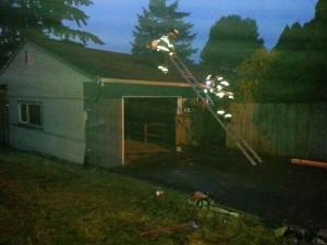 Everett house fire