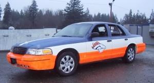 EFD Bronco car