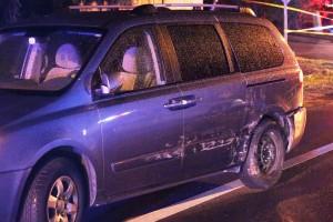 Mukilteo Blvd Fatal crash - van
