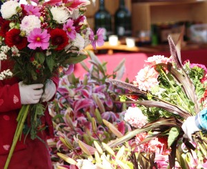 Flowers at Everett Farmers Market