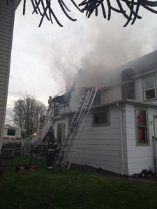 Fire at 3200 Hoyt in Everett, WA