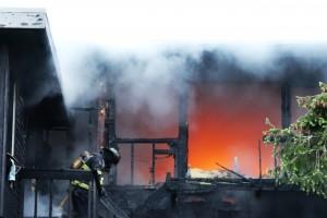 Geyer Lane Fire 1