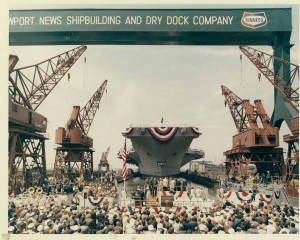 The Nimitz was commissioned on May 3, 1975. Click photo to visit the ship's Facebook page.