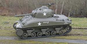 Sherman Tank photo