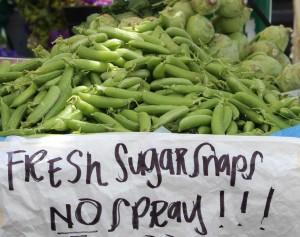 sugarsnap peas