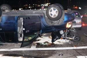 112th Motorcycle crash