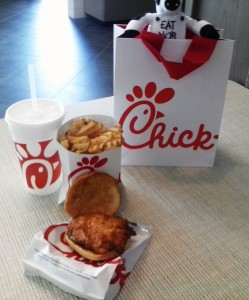 Chick-fil-A meal