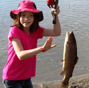 kids fish-in