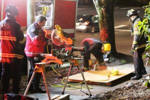 Everett Fire crews