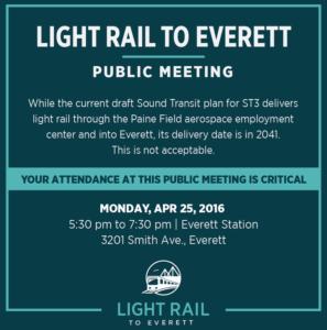 Light Rail To Everett