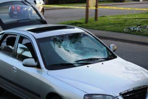 car-bicycle crash