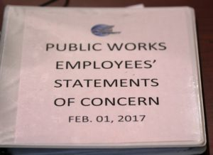 public works employees