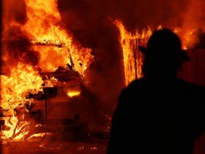 112th garage fire