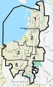 districts