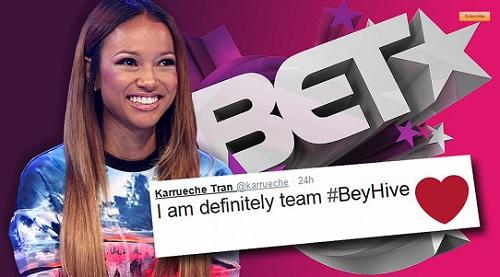 BET  Apologizes for Blue Ivy Joke Read By Karrueche.