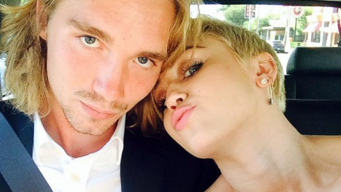 Miley Cyrus MTV Awards date Arrested for six months