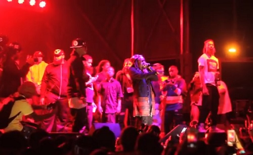Wale and Jeremih performing The Body live at Meccafest 2014