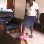 Shocking Video: Babysitter Brutally Beats, Stomps On Toddler  For Throwing Up