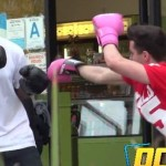 Boxing Strangers PRANK In Compton!!