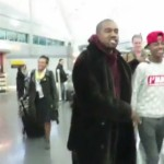Kanye West (Nike Diss) Offers a Man a pair of his Yeezy 750 Boosts & More.