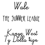Wale Ft. Kanye West & Ty Dolla $ign 'The Summer League' (New Music).