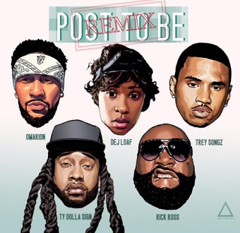 Omarion Ft. Dej loaf, Rick Ross, Trey Songz & Ty Dolla Sign Post To Be remix.