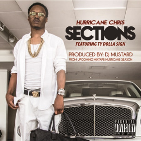 New Music Hurricane Chris Ft. Ty Dolla Dign Sections.