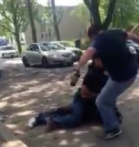 Chicago family outraged after video shows police officer kicking A man in head