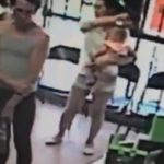 A terrifying kidnapping attempt was caught on surveillance.