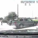 White Cop Slams Black School Teacher During Traffic Stop.