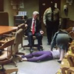 19 Year Old Collapses After Found Guilty In Triple Hair Weave Murder!