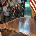 Kanye West Goes On A Rant At The White House With President Trump.