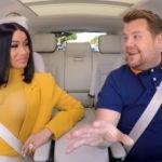Cardi B hops in the car with James Corden for a Carpool Karaoke