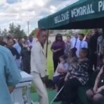 Women Kicked Out Of Funeral For Twerking on her man's Casket one last time.