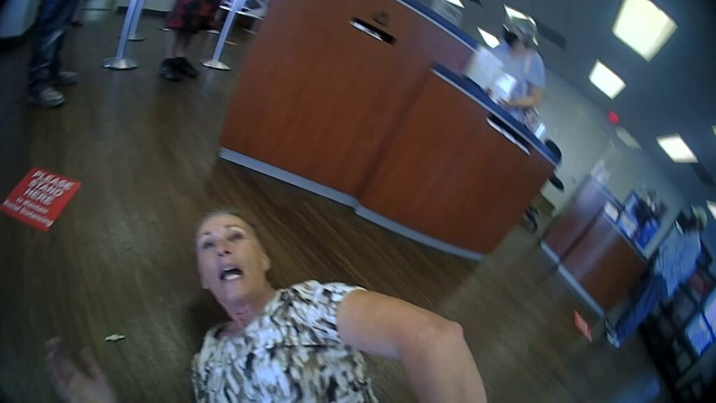 65 Year-Old Woman Arrested For Refusing To Wear Mask At Bank.