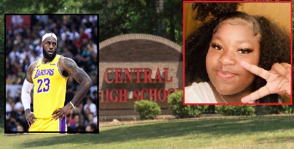Teacher Throws Object At Student For Defending Ma'Khia Bryant And Lebron James.