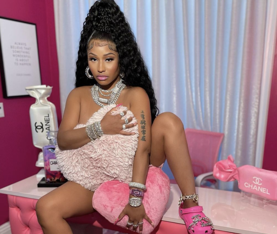 Listen: Nicki Minaj Drops 3 New Tracks Fractions, Crocodile Teeth & Seeing Green