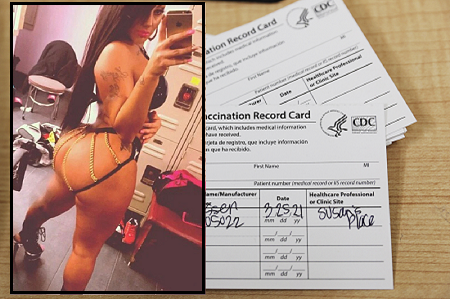 Stripper Charged With Selling 250 worth Of Fake Vaccine Cards