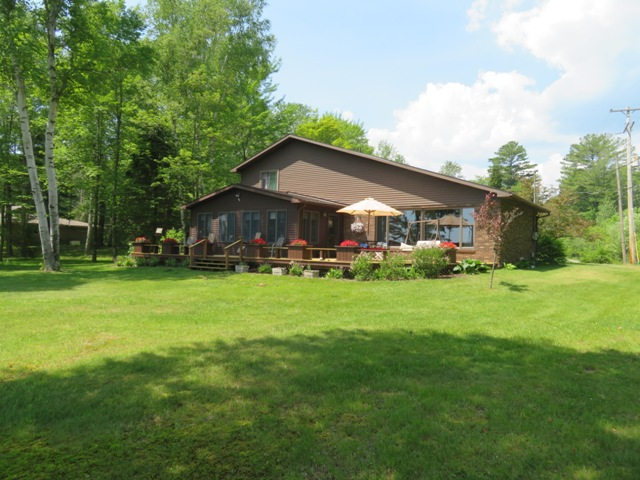 Cedar Lake Home with 85 to 170 feet of water frontage!