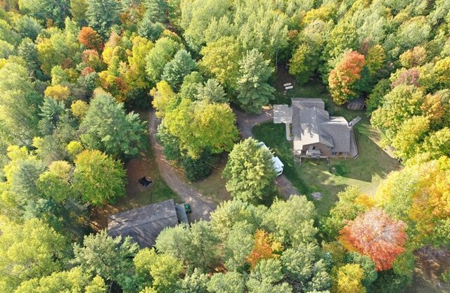 Custom Home on 40 acres off S. Barlow Road