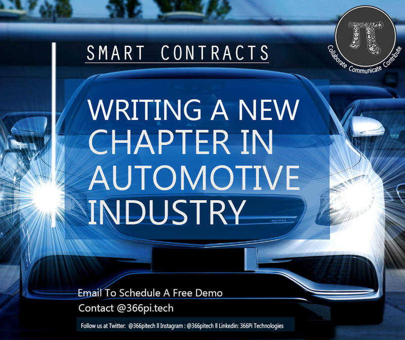 Smart Contracts in Automotive