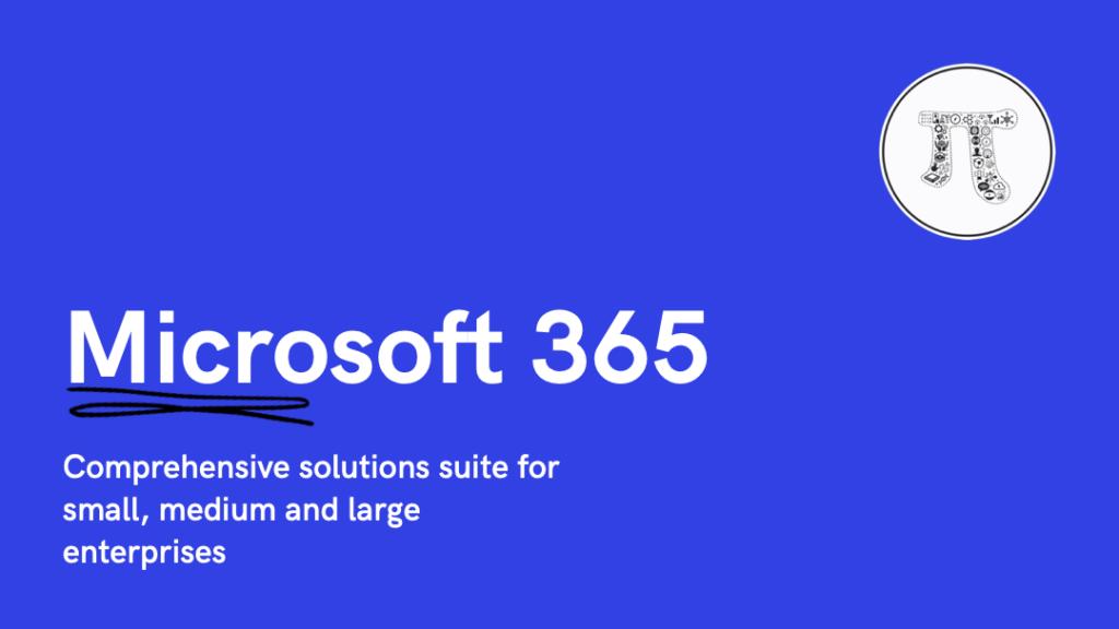 Microsoft 365 By 366Pi