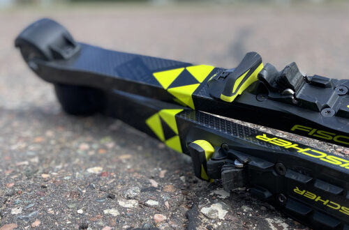 Fischer Speedmax Rollerskis Are Ready to Roll
