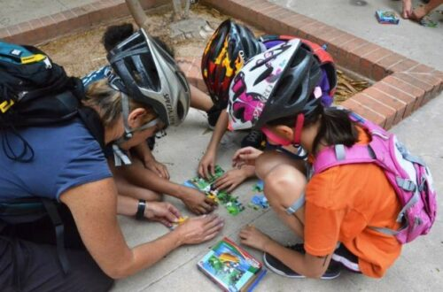 Bike Games and Tricks to Help Kids Get Out And Ride