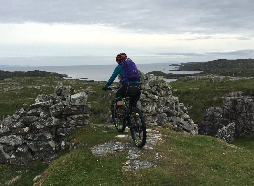 Cable resident bikes in Scotland